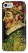 Spring IPhone Case by Giuseppe Arcimboldo