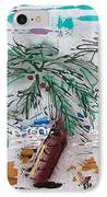 Surf N Palms IPhone Case by J R Seymour