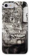 The Beast Of Babylon IPhone Case by Otto Rapp
