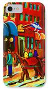 The Red Sled IPhone Case