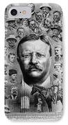 Theodore Roosevelt IPhone Case by Granger