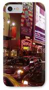 Times Square Night IPhone Case