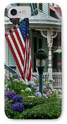 Victorian House And Garden. IPhone Case by John Greim