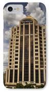 Wachovia Tower Roanoke Virginia IPhone Case