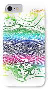 Water Pattern IPhone Case by Setsiri Silapasuwanchai