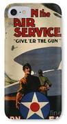 World War I: Air Service IPhone Case by Granger