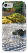 Zen Garden At A Sunny Morning IPhone Case by Ulrich Schade