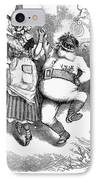 Thomas Nast: Christmas IPhone Case by Granger