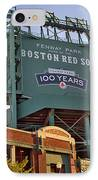 100 Years At Fenway IPhone Case by Joann Vitali