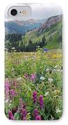 Wildflower Meadow IPhone Case by Bob Gibbons