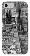 1860's Ore Assay Office Shop - Montana IPhone Case by Daniel Hagerman