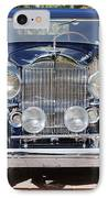 1933 Packard 12 Convertible Coupe IPhone Case by Jill Reger