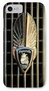 1934 Plymouth Emblem IPhone Case by Jill Reger
