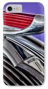 1937 Hudson Terraplane Sedan Hood Ornament 2 IPhone Case by Jill Reger