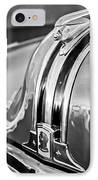 1948 Pontiac Chief Hood Ornament 4 IPhone Case by Jill Reger