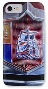 1949 Plymouth P-18 Special Deluxe Convertible Emblem IPhone Case by Jill Reger