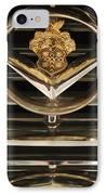 1955 Packard Hood Ornament Emblem IPhone Case by Jill Reger