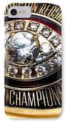 1982 Redskins Super Bowl Ring IPhone Case by Paul Van Scott