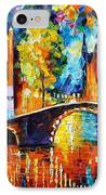 Amsterdam IPhone Case by Leonid Afremov