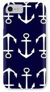 Anchor IPhone Case by Chastity Hoff