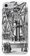 Corliss Steam Engine, 1876 IPhone Case