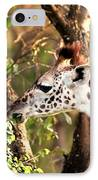 Giraffe IPhone Case by Sebastian Musial