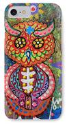 Owl Day Of The Dead IPhone Case