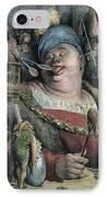 Rabelais: Gargantua, 1873 IPhone Case by Granger