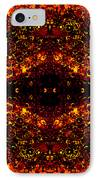 The Beginning Or The End IPhone Case by Angelina Vick