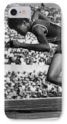 Wilma Rudolph (1940-1994) IPhone Case by Granger