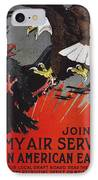 World War I: Air Service IPhone Case by Granger