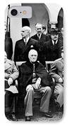Yalta Conference, 1945 IPhone Case by Granger