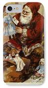 American Christmas Card IPhone Case by Granger