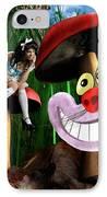 Alice In Wonderland IPhone Case by Oleksiy Maksymenko