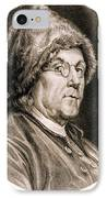Benjamin Franklin, American Polymath IPhone Case