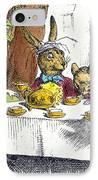 Carroll: Alice, 1865 IPhone Case