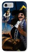 Pirate With A Treasure Chest IPhone Case by Oleksiy Maksymenko