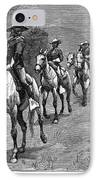Remington: 10th Cavalry IPhone Case by Granger