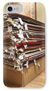 Area Rugs In A Store IPhone Case by Jetta Productions, Inc