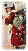 Christmas Card IPhone Case by Granger