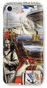 World War I: French Poster IPhone Case by Granger