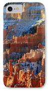Sunset Point In Bryce Canyon IPhone Case by Pierre Leclerc Photography