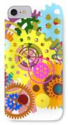 Gears Wheels Design  IPhone Case