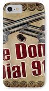 911 IPhone Case