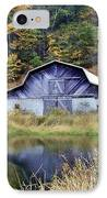 A Is For Autumn IPhone Case