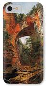 A Natural Bridge In Virginia IPhone Case