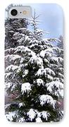 A Peaceful Winter Day IPhone Case by Will Borden