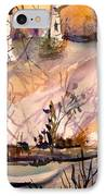 A Quiet Light IPhone Case by Mindy Newman