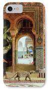 A Royal Palace In Morocco IPhone Case by Benjamin Jean Joseph Constant