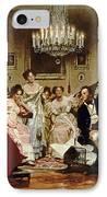 A Schubert Evening In A Vienna Salon IPhone Case